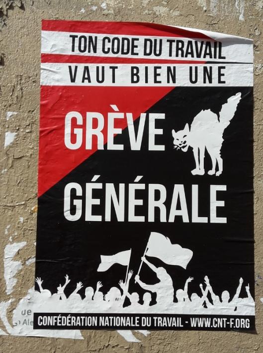 Paris CNT Greve Gle